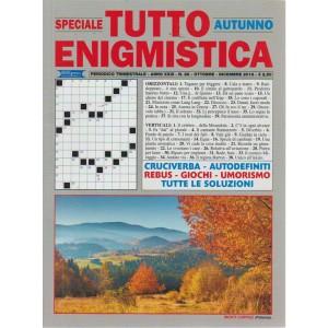 Speciale Tutto Enigmistica - autunno - n. 88 - trimestrale - ottobre - dicembre 2018