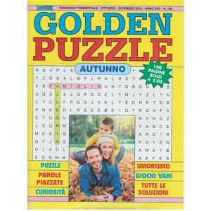 Golden Puzzle autunno - n. 128 - trimestrale - ottobre - dicembre 2018 - 100 pagine
