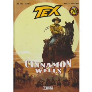 Tex Stella D'oro - Cinnamon Wells - n. 28 - semestrale - settembre 2018