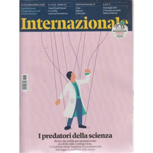 Internazionale + allegato  Il libraio - n. 1274 - 21/27 settembre 2018 - settimanale