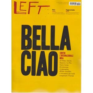 Left  - n. 38 - 21/9/ - 27/9/2018 - settimanale