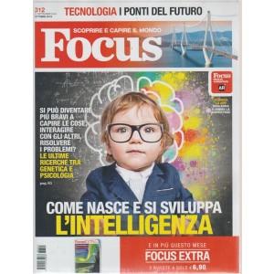 Focus + Focus extra - n. 312 - ottobre 2018 - 2 riviste - mensile
