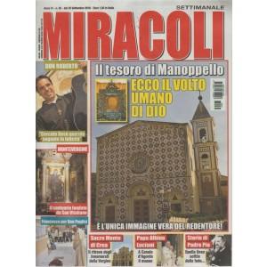 Miracoli - n. 35 - dal 25 settembre 2018 - settimanale -