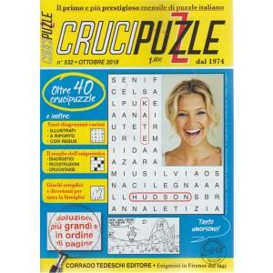 Crucipuzzle - n. 532 - ottobre 2018 - mensile
