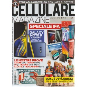 Cellulare Magazine - n. 7 - settembre 2018 - mensile