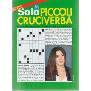 Solo Piccoli Cruciverba - n. 89 - ottobre - novembre 2018 - bimestrale - 68 pagine