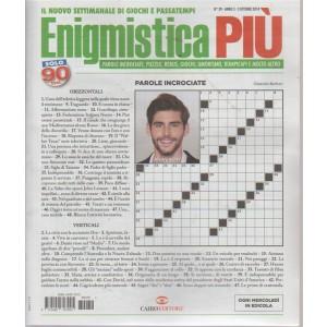 Enigmistica Piu' - n. 39 - 3 ottobre 2018 - settimanale