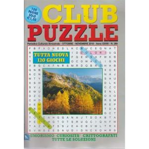 Club Puzzle - n. 266 - bimestrale - ottobre - novembre 2018 - 100 pagine