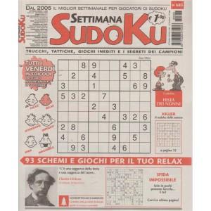 Settimana Sudoku - n. 685 - 28 settembre 2018 - settimanale
