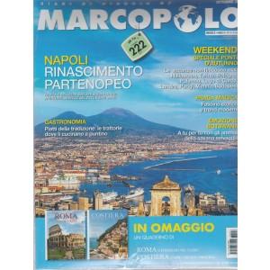 Marco Polo + Diari di viaggio - Roma e itinerari nel Lazio - ottobre 2018 - n. 8 - mensile