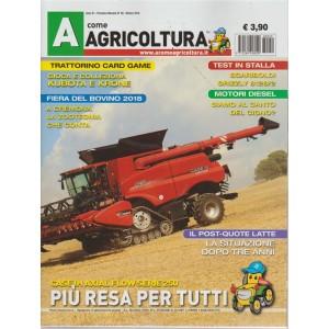 A come agricoltura - n. 59 - mensile - ottobre 2018