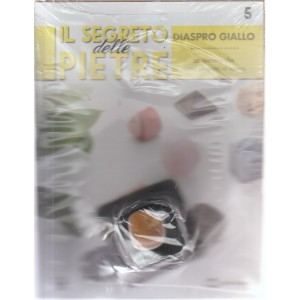 Il segreto delle pietre  - Diaspro giallo - settimanale - n. 5