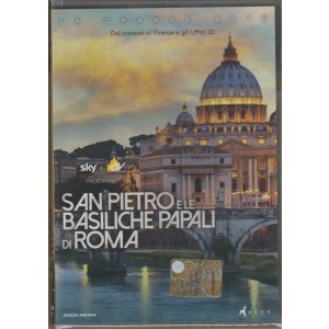 DVD - San Pietro e le Basiliche papali di Roma - regista: Luca Viotto