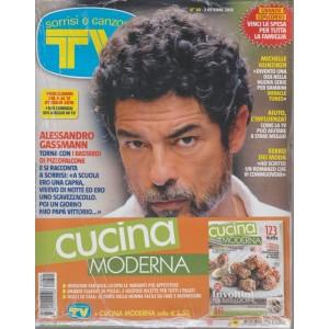 Sorrisi e Canzoni TV + Cucina moderna - n. 40 - 2 ottobre 2018 - settimanale - 2 riviste