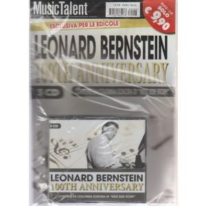 Music Talent Var.07 - Leonard Bernstein - 100 TH Anniversary - rivista + 3 CD - n. 6 - novembre - dicembre 2018 - bimestrale