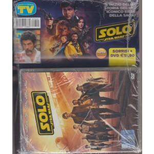 Sorrisi + DVD Solo star wars - super anteprima