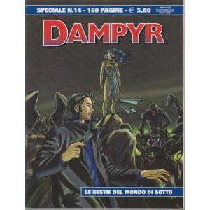 Dampyr - n. 14 - speciale - 160 pagine - annuale - novembre 2018 - Le bestie del mondo di sotto