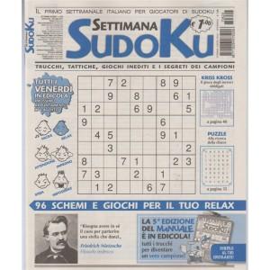 Settimana Sudoku - n. 624 - 28 luglio 2017