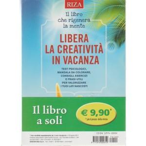 RIZA - Libera la creatività in vacanza - il libro che rigenera la mente