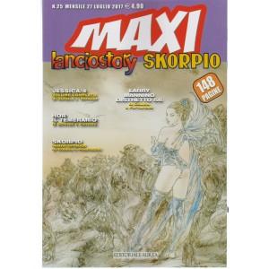 Maxi Lanciostory & Skorpio - mensile n. 25 Luglio 2017 Editoriale Aurea