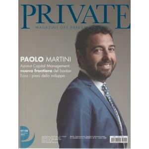 Private Magazine del Private Banking - mensile n. 8 Agosto 2017