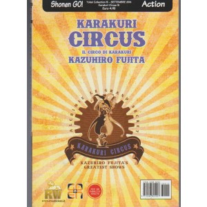 Manga: Yokai Collection #15 – Karakuri Circus #15 - Goen edizioni