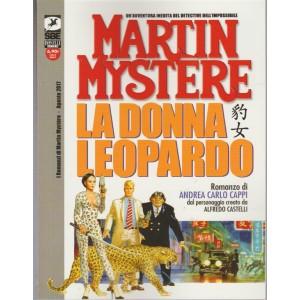 MARTIN MYSTÈRE ONE SHOT - LA DONNA LEOPARDO - Agosto 2017 - ROMANZO