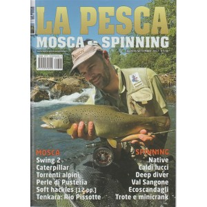 Pesca Mosca e Spinning - Bimestrale n.4 Agosto 2017 - Swing 2/Native/Caterpillar