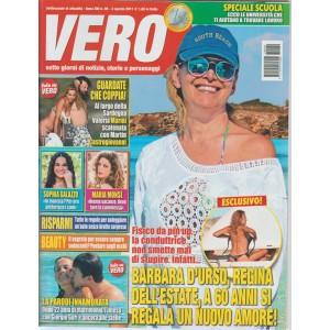 Vero - settimanale n. 30 - 3 Agosto 2017 - Barbara D'Urso regina dell'estate