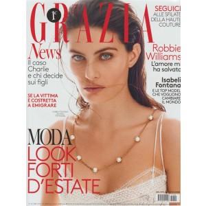 Grazia - Settimanale n. 29 - 7 Luglio 2017 Isabeli Fonatan - 34 anni top model