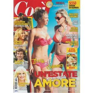 COSI' -settimanale n.16 - 1 Agosto2017- Ilary e Simona un'estate di grande amore