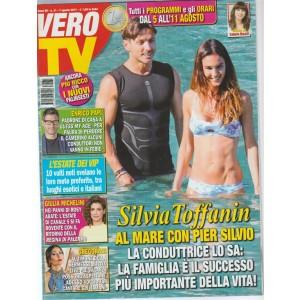 Vero TV - settimanale n.3 - 7Agosto2017 Silvia Toffanin al mare con Pier Silvio