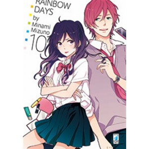 Manga: RAINBOW DAYS #10 - Star Comics collana Turn Over # 205