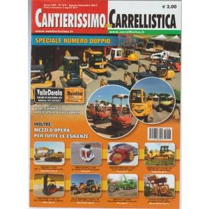 Cantierissimo con Carrellistica - mensile n. 8/9 Agosto / Settembre 2017