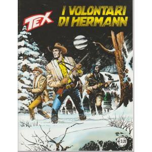 TEX. I VOLONTARI DI HERMANN. N. 632. MENSILE OTTOBRE 2016.