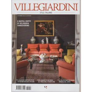 VILLEGIARDINI STILE ITALIANO.  N. 9. SETTEMBRE 2016.  MENSILE.