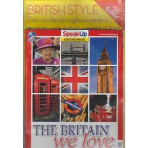 BRITISH STYLE. SPEAK UP CULTURE SPECIAL. THE BRITAIN WE LOVE. N. 7 OTTOBRE 2016. RIVISTA+CD.