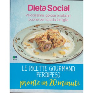 DIETA SOCIAL.QUARTO VOLUME. N. 3. PRONTE IN 20 MINUTI