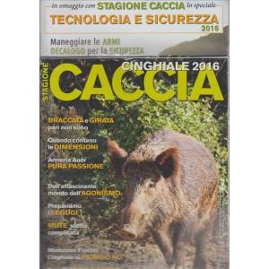 STAGIONE CACCIA CINGHIALE 2016.  N. 20. BIMESTRALE.
