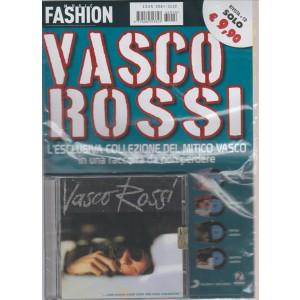 MUSIC FASHION. VASCO ROSSI.  RIVISTA+ CD.  .... MA COSA VUOI CHE SIA UNA CANZONE. QUARTA USCITA