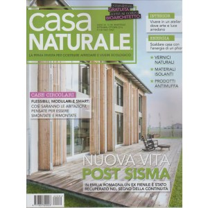 CASA NATURALE. N. 84. BIMESTRALE. SETTEMBRE/OTTOBRE  2016.