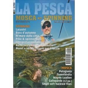 LA PESCA MOSCA E SPINNING. N. 5. OTTOBRE/NOVEMBRE 2016.