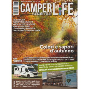 CAMPERLIFE. VIAGGIARE FACILE. N. 46. MENSILE OTTOBRE 2016.