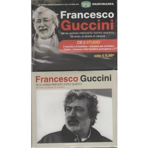 FRANCESCO GUCCINI.  SE IO AVESSI PREVISTO TUTTO QUESTO.  GLI AMICI, LA STRADA, LE CANZONI. CD2 STUDIO.