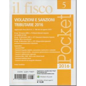 IL FISCO POCKET N. 5. VIOLAZIONI E SANZIONI TRIBUTARIE 2016.