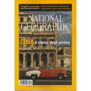 NATIONAL GEOGRAPHIC ITALIA N. 4. MENSILE OTTOBRE 2016.