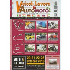 VEICOLI LAVORO & AUTOMOTO CAMPER. VINTAGE. N. 10. OTTOBRE 2016.