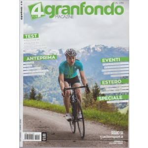 4 GRANFONDO MAGAZINE. N. 10. OTTOBRE 2016. MENSILE.
