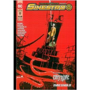 Lanterna Verde Presenta: Sinestro # 22 - DC Comics lion