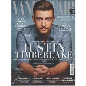 VANITY FAIR settimanale n. 33 - 24 Agosto 2016 Justin Timberlake